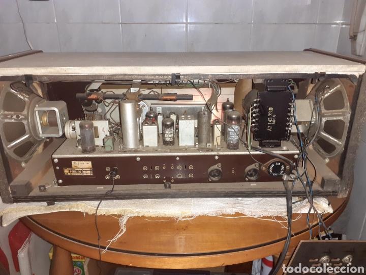 Radios de válvulas: Radio Philips B5X94A, Funcionando. - Foto 9 - 212302658