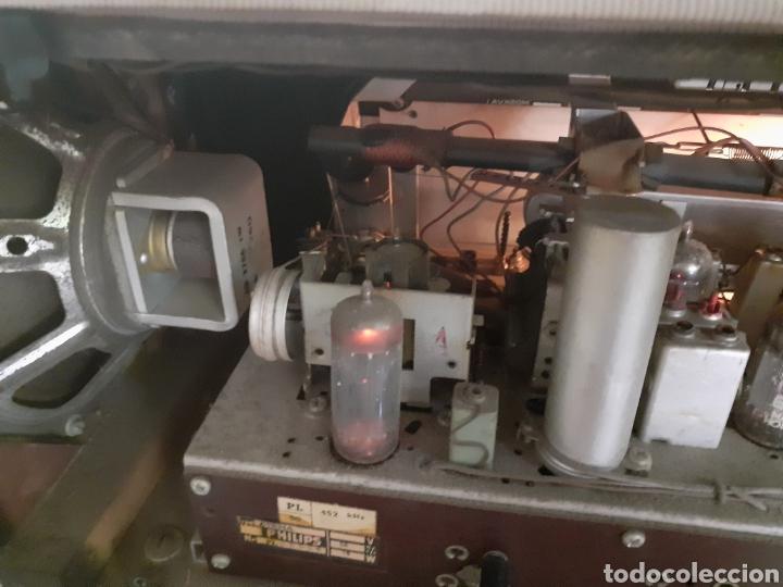 Radios de válvulas: Radio Philips B5X94A, Funcionando. - Foto 13 - 212302658