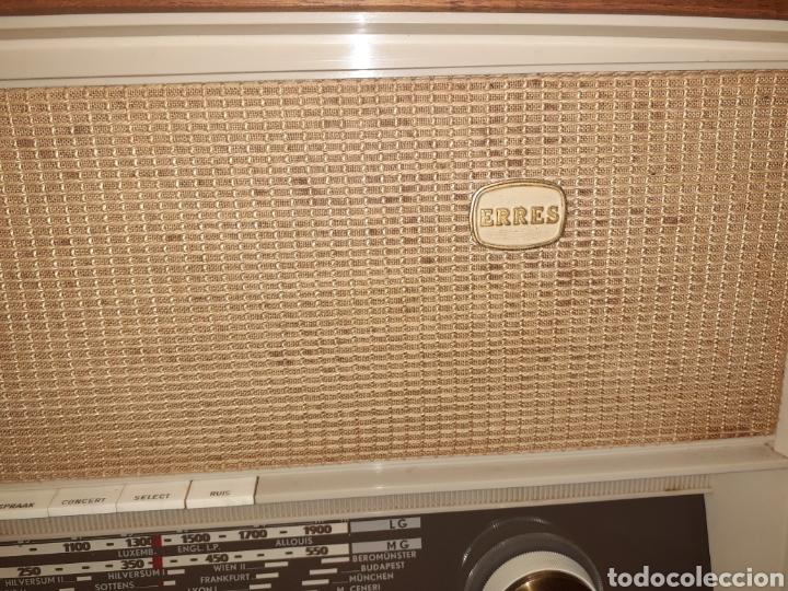 Radios de válvulas: Radio Erres , RA 635, Funcionando - Foto 10 - 212306105