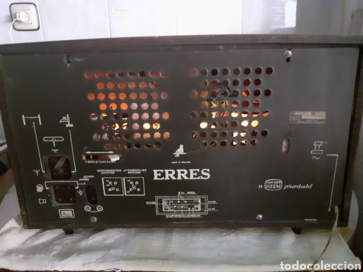 Radios de válvulas: Radio Erres , RA 635, Funcionando - Foto 20 - 212306105