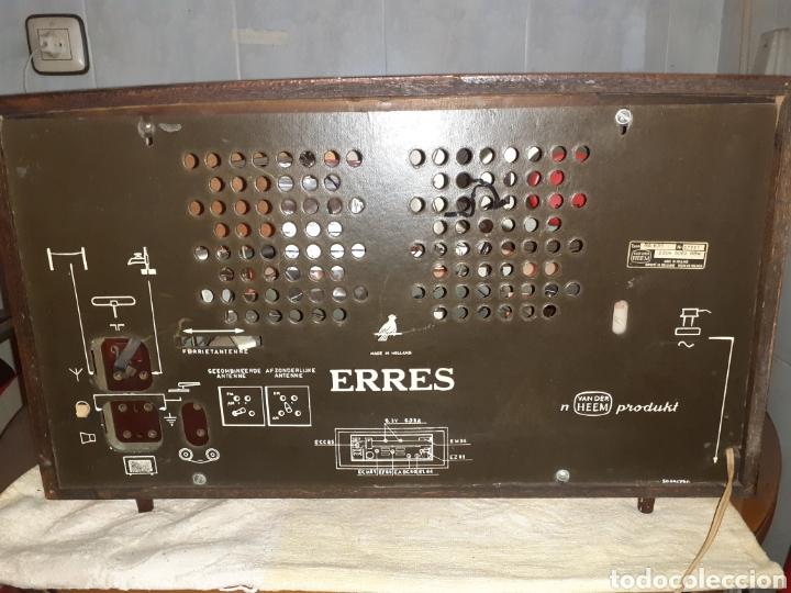 Radios de válvulas: Radio Erres , RA 635, Funcionando - Foto 21 - 212306105