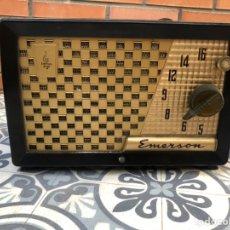 Radios de válvulas: RADIO ANTIGUA EMERSON 729B USMO. Lote 212776812