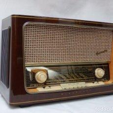 Radios de válvulas: ANTIGUA RADIO DE VÁLVULAS MARCA BLAUPUNKT, COMO NUEVA Y MUY BUEN SONIDO, VER FOTOS Y VÍDEO.. Lote 212885470