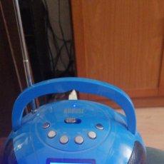 Radios de válvulas: RADIO BLUETOOTH MARCA AUGUST CARGA USB PANTALLA DIGITAL. Lote 212903868