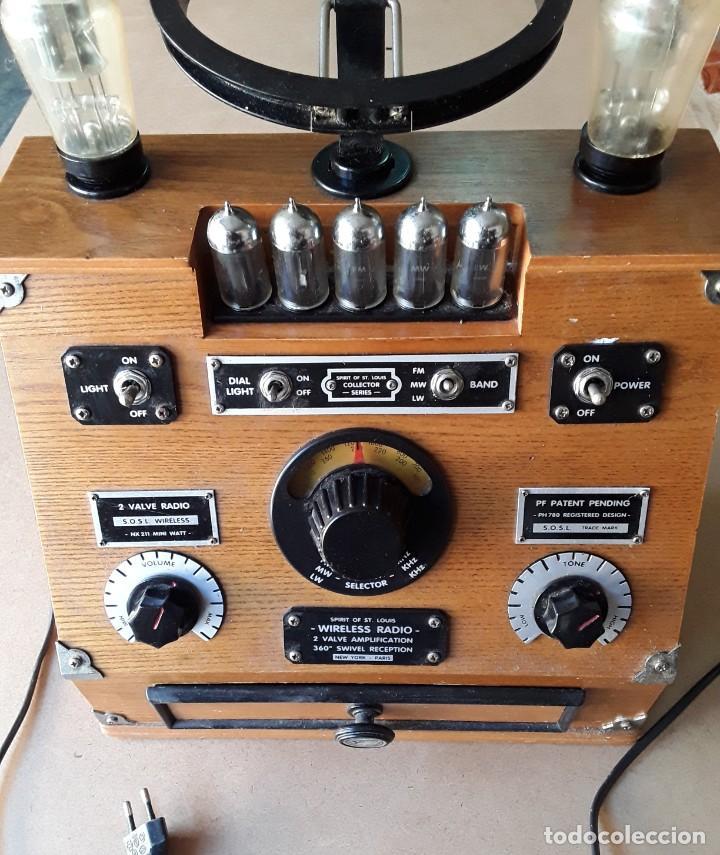 RADIO ANTIGUA CONMEMORATIVA SPIRIT OF ST. LOUIS (Radios, Gramófonos, Grabadoras y Otros - Radios de Válvulas)