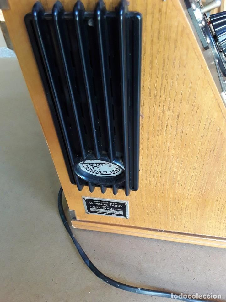 Radios de válvulas: Radio antigua conmemorativa spirit of st. louis - Foto 3 - 213186895
