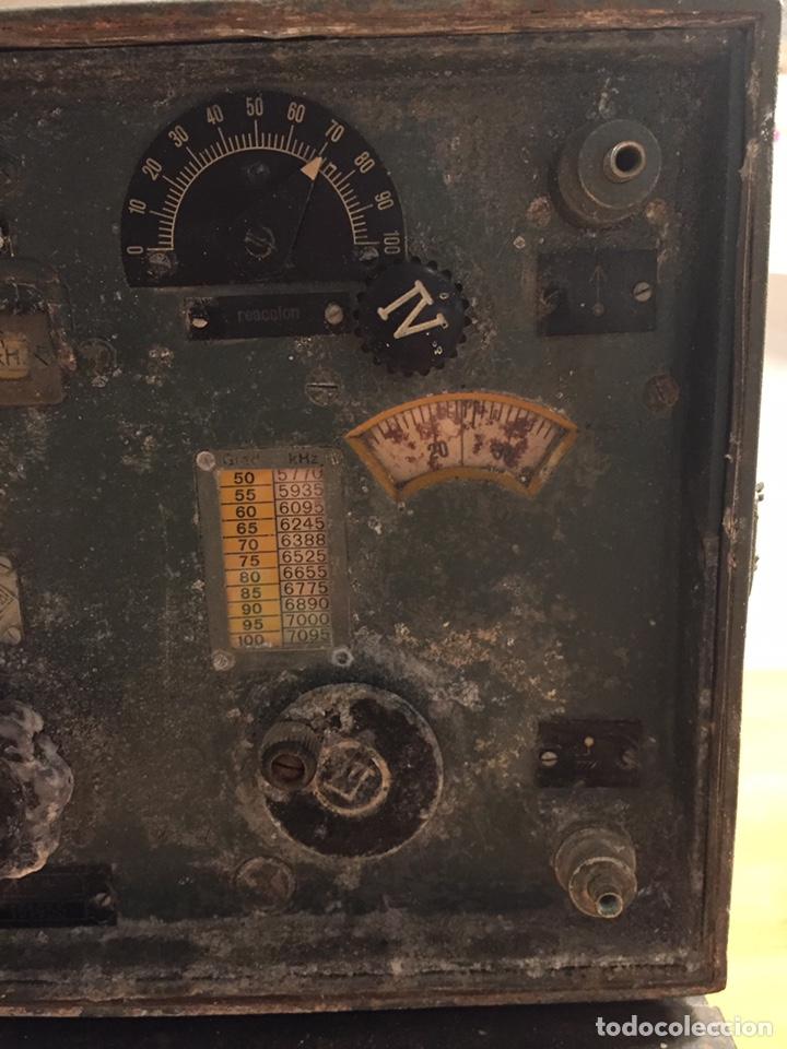 Radios de válvulas: Radio Militar Torn.e.b en guerra civil - Foto 6 - 213442583