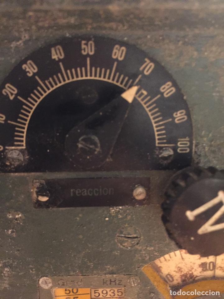 Radios de válvulas: Radio Militar Torn.e.b en guerra civil - Foto 10 - 213442583