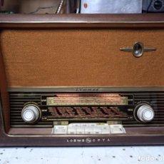 Radios de válvulas: LOEWE OPTA PLANET 3B ,TYPE 2737W RESTAURADA. Lote 213502235