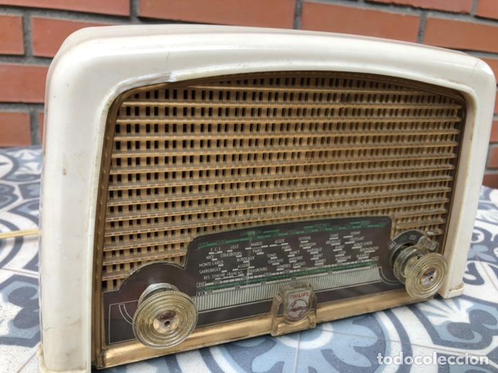 Radios de válvulas: Radio antigua Philips BF121U. USMO - Foto 2 - 214096377
