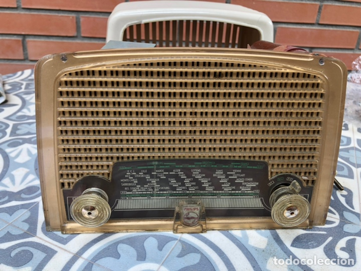 Radios de válvulas: Radio antigua Philips BF121U. USMO - Foto 8 - 214096377