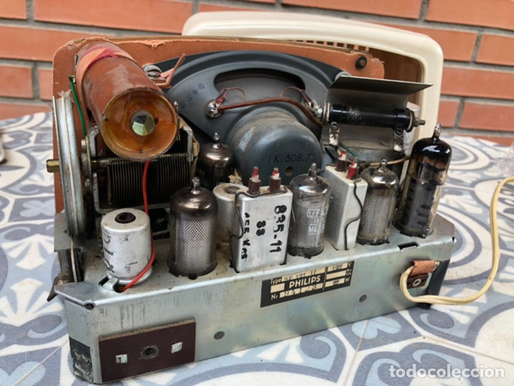 Radios de válvulas: Radio antigua Philips BF121U. USMO - Foto 9 - 214096377