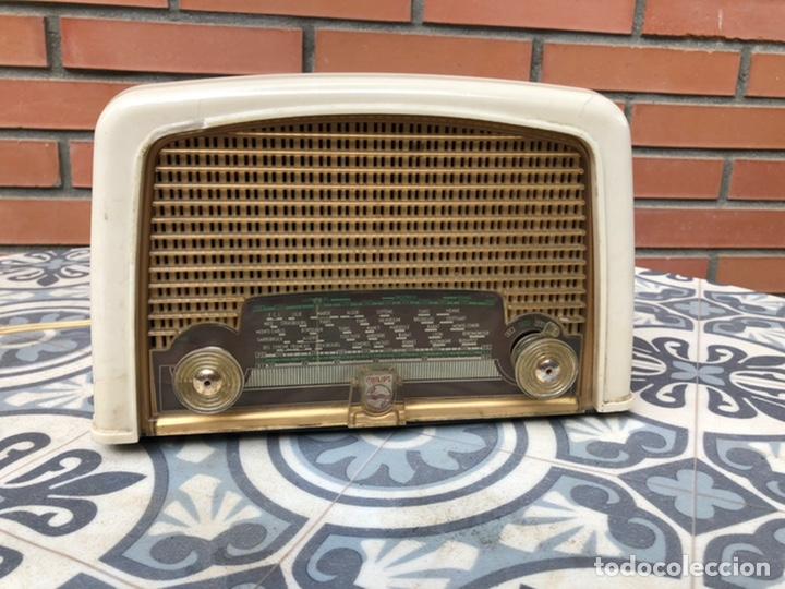 RADIO ANTIGUA PHILIPS BF121U. USMO (Radios, Gramófonos, Grabadoras y Otros - Radios de Válvulas)
