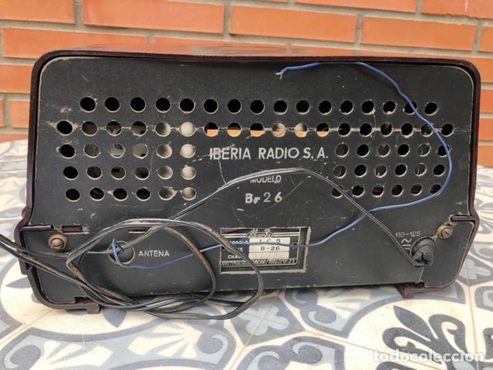 Radios de válvulas: Radio antigua Iberia b26. Más poniendo USMO - Foto 7 - 214096651