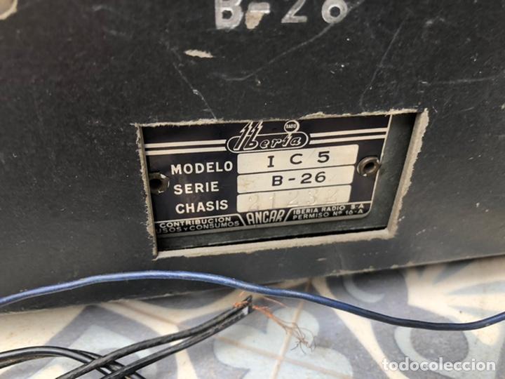 Radios de válvulas: Radio antigua Iberia b26. Más poniendo USMO - Foto 8 - 214096651