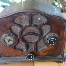 Radios de válvulas: RADIO DE VALVULAS CARCASA DE MADERA. Lote 214460868