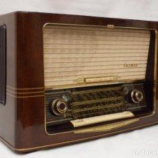 Rádios de válvulas: ANTIGUA RADIO DE VÁLVULAS NORDMENDE CARMEN 57, FUNCIONANDO CON GRAN SONIDO (VER VÍDEO). Lote 214461992