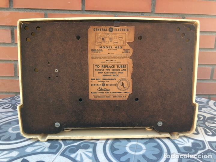 Radios de válvulas: Radio antigua General Electric 423. USMO - Foto 12 - 214961462