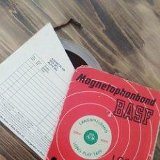 Radios de válvulas: CINTA MAGNETOFONO BASH AUDIO. Lote 215200446