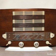 Radios de válvulas: RADIO ONDIA MODELO 91 -¡FUNCIONA!. Lote 215883955