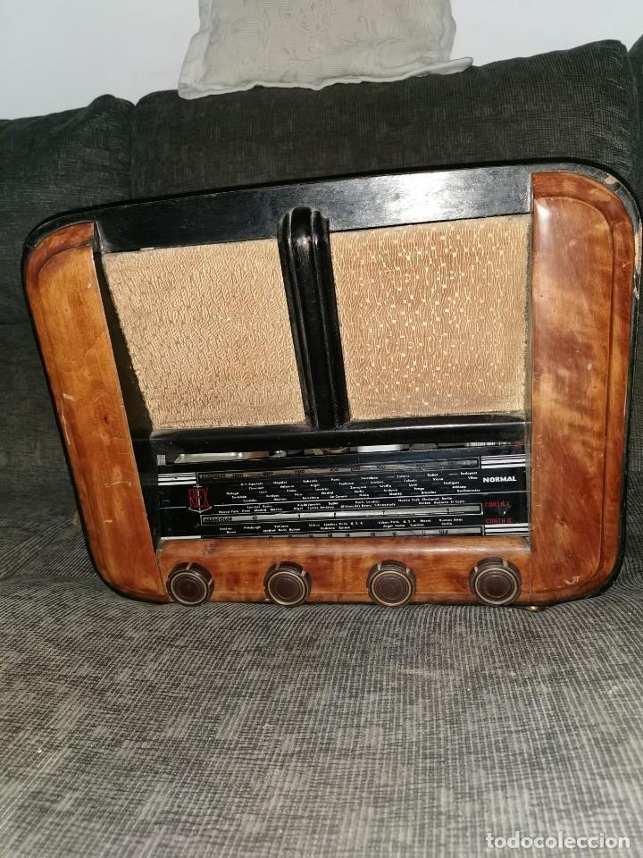 RADIO REX. AÑOS 40 (Radios, Gramófonos, Grabadoras y Otros - Radios de Válvulas)