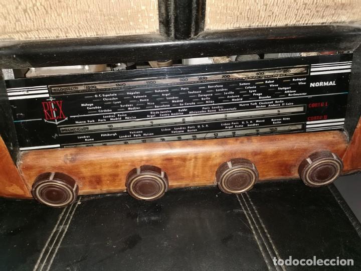Radios de válvulas: Radio Rex. Años 40 - Foto 5 - 215953726