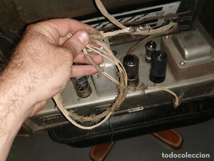 Radios de válvulas: Radio Rex. Años 40 - Foto 9 - 215953726