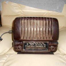 Radios de válvulas: RADIO A VÁLVULAS TELEFUNKEN CAPRICHO 1651-U. BAQUELITA. CIRCA 1950.. Lote 217033422
