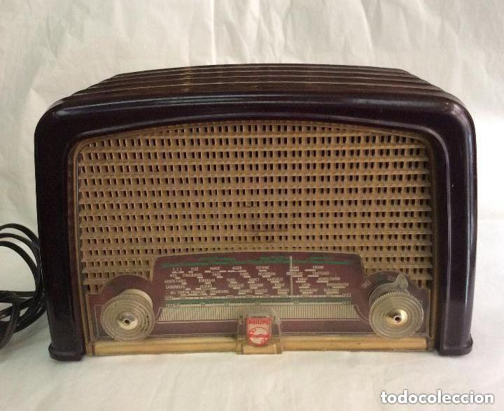 RADIO A VÁLVULAS AÑOS 60 PHILIPS BF 121 U ,IDEAL COLECCIONISTAS (Radios, Gramófonos, Grabadoras y Otros - Radios de Válvulas)