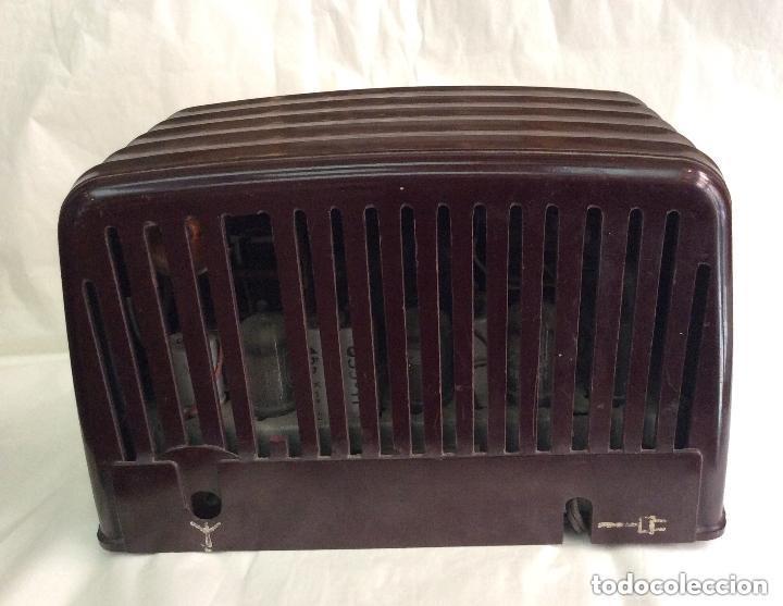 Radios de válvulas: RADIO A VÁLVULAS AÑOS 60 PHILIPS BF 121 U ,Ideal coleccionistas - Foto 3 - 217191153