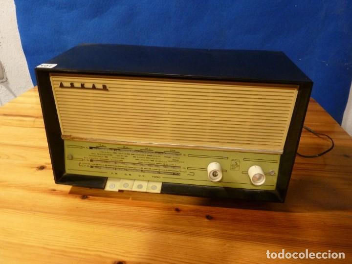 ANTIGUA-RADIO-ASKAR-MOD-AE-1320-A (Radios, Gramófonos, Grabadoras y Otros - Radios de Válvulas)