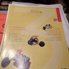 Radios de válvulas: LISTADO ALFANUMERICO DE EQUIVALENCIAS TRANSFORMADORES MAT. Lote 217513745