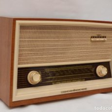 Radios de válvulas: ANTIGUA RADIO DE VÁLVULAS NORDMENDE, PRÁCTICAMENTE COMO NUEVA, FUNCIONANDO, MUY BUEN SONIDO.. Lote 217597707