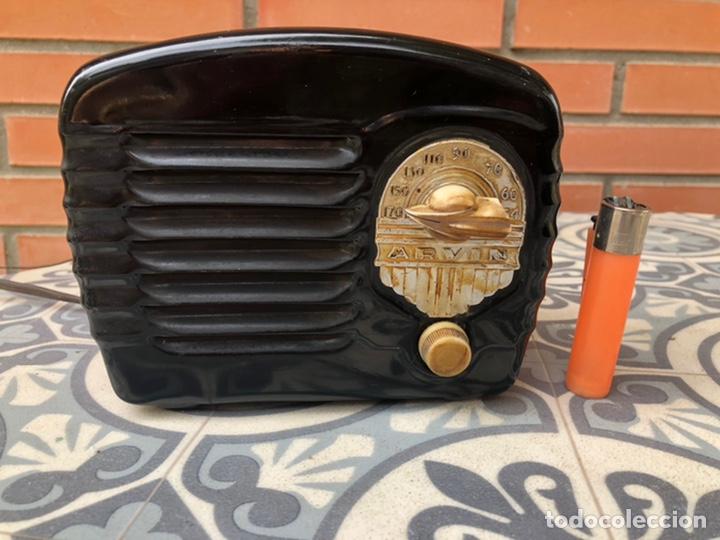 Radios de válvulas: Radio Antigua miniatura Arvin 442. USMO - Foto 2 - 217700375