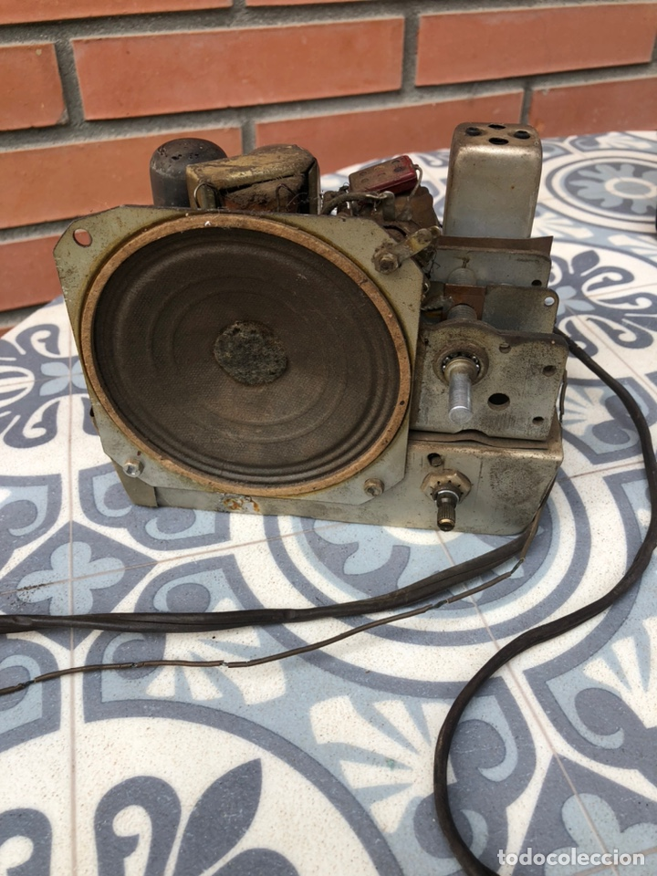 Radios de válvulas: Radio Antigua miniatura Arvin 442. USMO - Foto 9 - 217700375