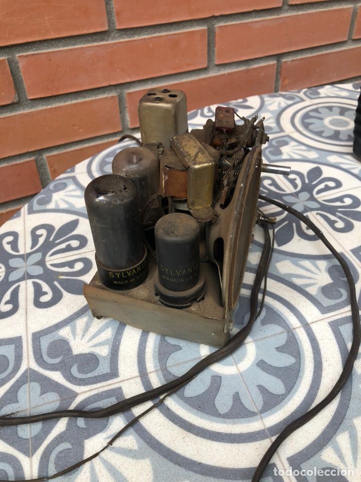 Radios de válvulas: Radio Antigua miniatura Arvin 442. USMO - Foto 10 - 217700375