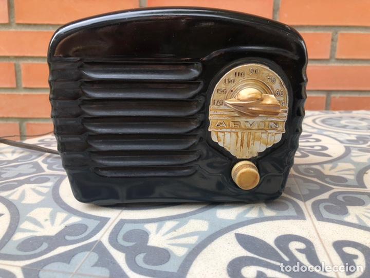 RADIO ANTIGUA MINIATURA ARVIN 442. USMO (Radios, Gramófonos, Grabadoras y Otros - Radios de Válvulas)