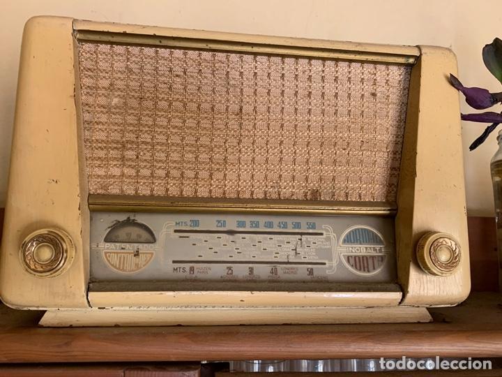 """RADIO ANTIGUA """"INOBALT MODELO 201"""" (Radios, Gramófonos, Grabadoras y Otros - Radios de Válvulas)"""