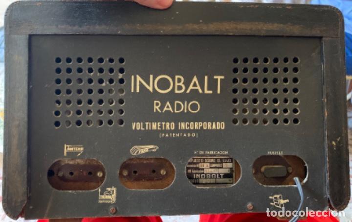 """Radios de válvulas: RADIO ANTIGUA """"INOBALT MODELO 201"""" - Foto 2 - 217959380"""