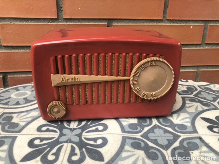 Radios de válvulas: Radio antigua Arvin 840 T caja original tarjeta de garantía. Miniatura USMO - Foto 6 - 217964836