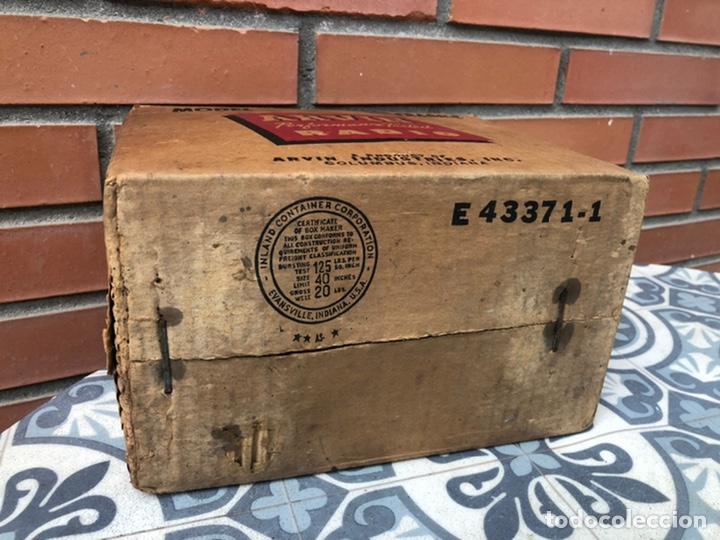 Radios de válvulas: Radio antigua Arvin 840 T caja original tarjeta de garantía. Miniatura USMO - Foto 10 - 217964836
