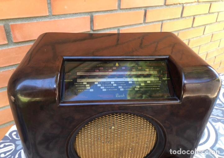 Radios de válvulas: Radio antigua Bush radio EBS3A DAC 90 A 90 A. Más poniendo USMO - Foto 2 - 218348680
