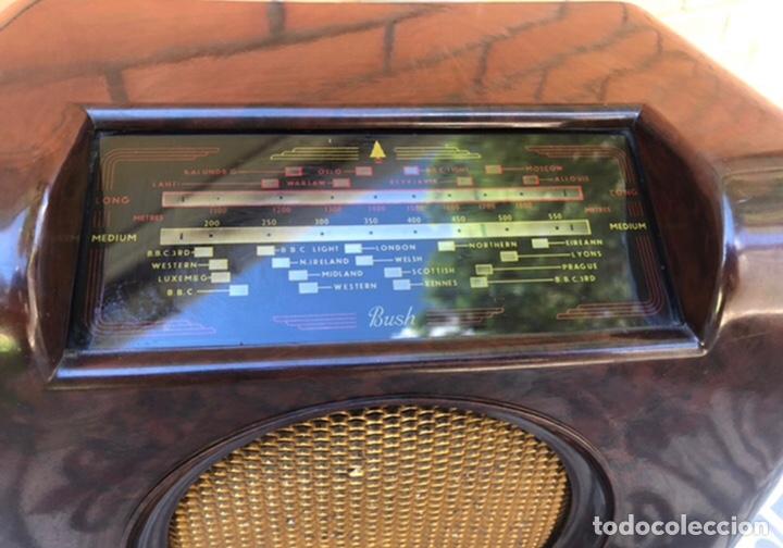 Radios de válvulas: Radio antigua Bush radio EBS3A DAC 90 A 90 A. Más poniendo USMO - Foto 3 - 218348680