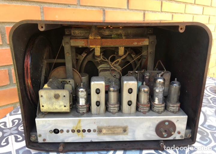 Radios de válvulas: Radio antigua Bush radio EBS3A DAC 90 A 90 A. Más poniendo USMO - Foto 5 - 218348680