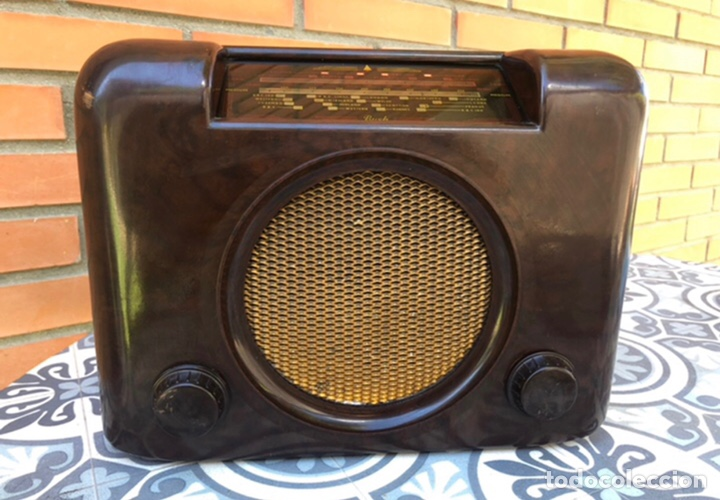 RADIO ANTIGUA BUSH RADIO EBS3A DAC 90 A 90 A. MÁS PONIENDO USMO (Radios, Gramófonos, Grabadoras y Otros - Radios de Válvulas)