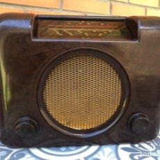 Radios de válvulas: RADIO ANTIGUA BUSH RADIO EBS3A DAC 90 A 90 A. MÁS PONIENDO USMO. Lote 218348680