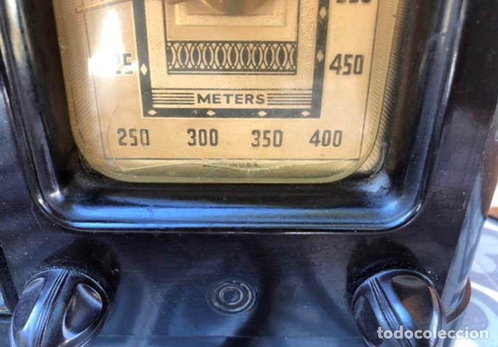 Radios de válvulas: Radio antigua Fada model 220. Más poniendo USMO . - Foto 4 - 218349902