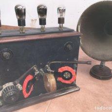 Radios de válvulas: RADIO VALVULAS VISTA CON ANTENA I PARLANTE THOMSON.. Lote 218415967