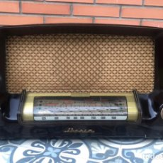 Radios de válvulas: RADIO ANTIGUA IBERIA D-21 D21. USMO. Lote 218449402