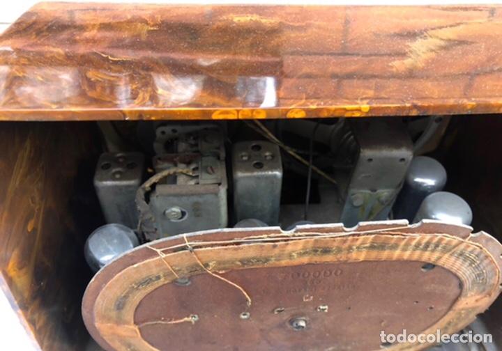 Radios de válvulas: Radio antigua Emerson 520 CH catalin Catalina USMO - Foto 6 - 218449446